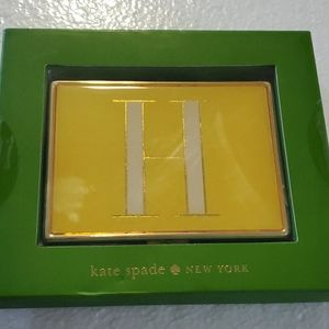 Kate Spade Initial H Card ID Holder